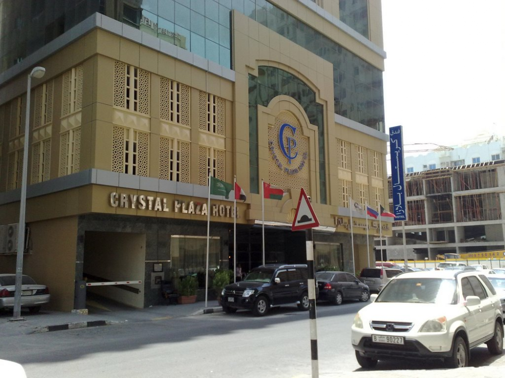 Crystal Plaza Hotel Sharjah 3*, BB (Шарджа-ОАЭ) 155 400 KZT